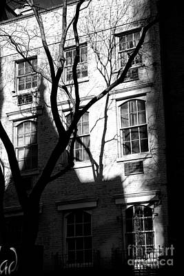 Photograph - Waverly Place Shadows by John Rizzuto