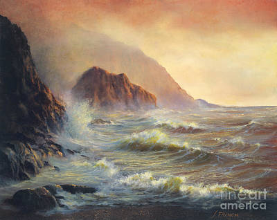 Painting - Waves After The Storm by Jeanette French