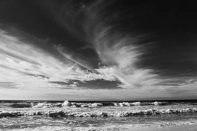 Photograph - Waves And Clouds by Jim Clark