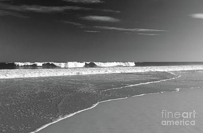 Photograph - Waves And Sand by Mary Haber