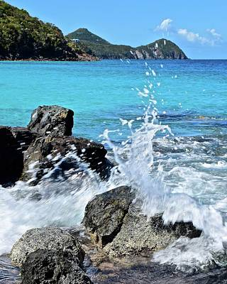 Photograph - Waves And Water by Frozen in Time Fine Art Photography