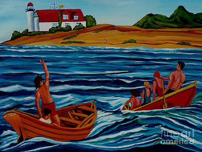 Painting - Waves by Anthony Dunphy