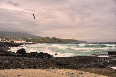 Photograph - Waves Azores-027 by Joseph Amaral
