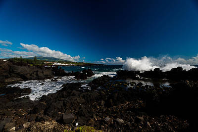 Photograph - Waves Azores-25 by Joseph Amaral