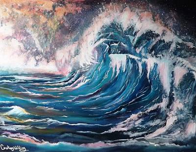 Painting - Waves by Courtney Wilding