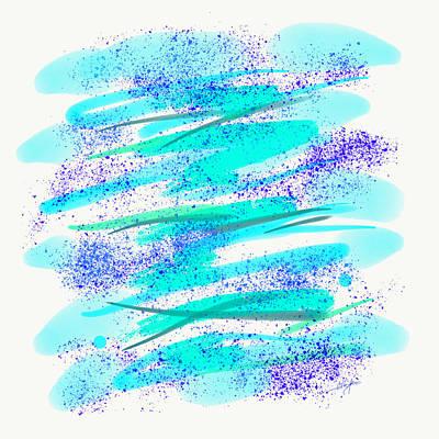 Digital Art - Waves by Cristina Stefan