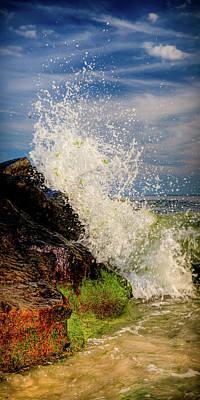 Waves Art Print by David Hahn