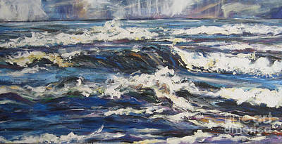 Painting - Waves by Debora Cardaci