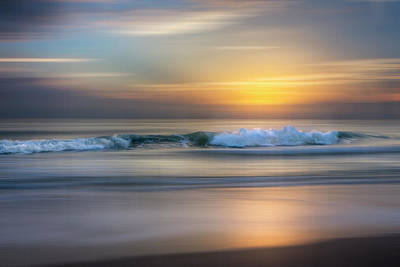 Photograph - Waves Dreamscape by Debra and Dave Vanderlaan