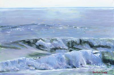 Painting - Waves, Gems Of The Ocean by Candace Lovely