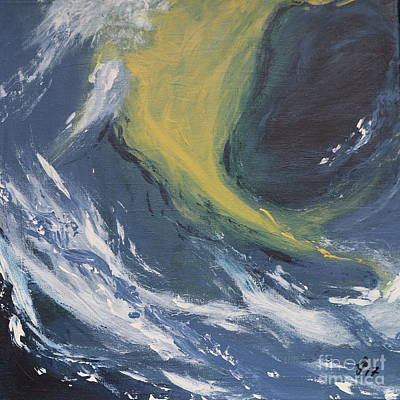 Painting - Waves I by Christiane Schulze Art And Photography