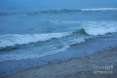 Cape Cod Photograph - waves II by HD Connelly