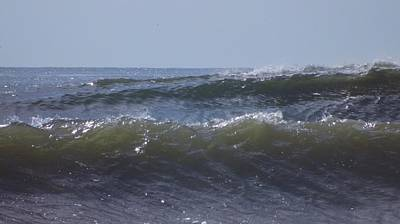 Photograph - Waves In A Set by John Wartman