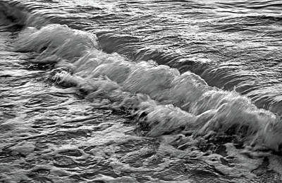 Photograph - Waves In Black And White by Larah McElroy
