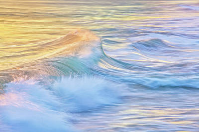 Photograph - Waves In Motion, Quinns Rocks, Perth, Western Australia by Dave Catley