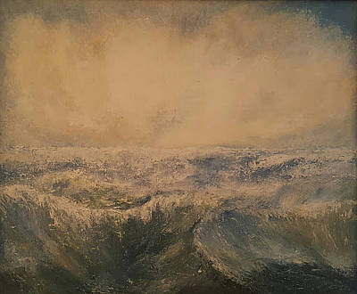 Painting - Waves by Joe Leahy