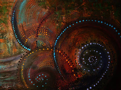 Waves Of Arousal  Art Print