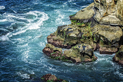 Photograph - Waves Of Blue by Scott Read