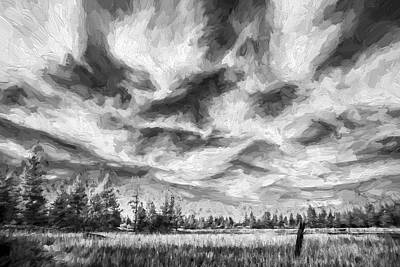 Foliage Image Digital Art - Waves Of Clouds II by Jon Glaser