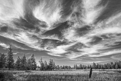 Waves Of Clouds Print by Jon Glaser