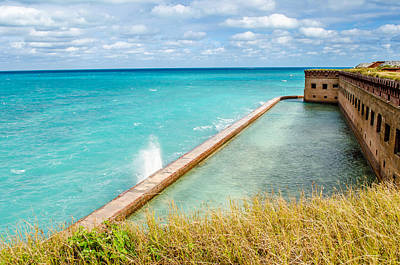 Waves Of Fort Jefferson  Original by Brenda Becker