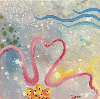 Painting - Waves Of Freedom by Tonya Henderson
