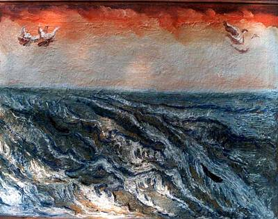 Painting - Waves Of Ganga-2 by Anand Swaroop Manchiraju