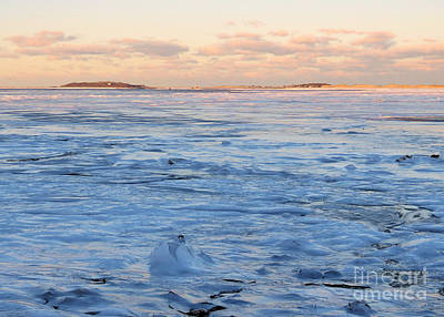 Photograph - Waves Of Ice by Janice Drew