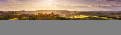 Tuscany Photograph - Waves Of Light by Javier De La