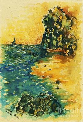 Waves Of Morro Jable Original by Entirre Kramcsak