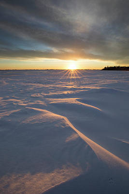 Photograph - Waves Of Snow by Aaron J Groen