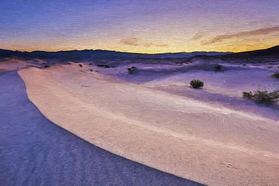Death Valley Digital Art - Waves Of Sound II by Jon Glaser