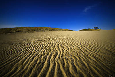 Photograph - Waves On Sleeping Bear Dunes by Owen Weber