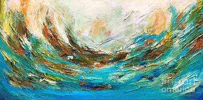 Painting - Waves by Preethi Mathialagan