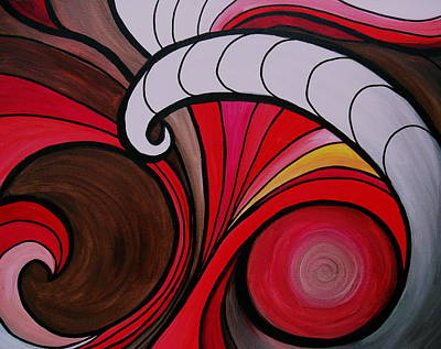 Painting - Waves by Pristine Cartera Turkus