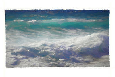 Digital Art - Waves by Roger Lighterness