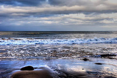Photograph - Waves Rolling In-124 by Joseph Amaral