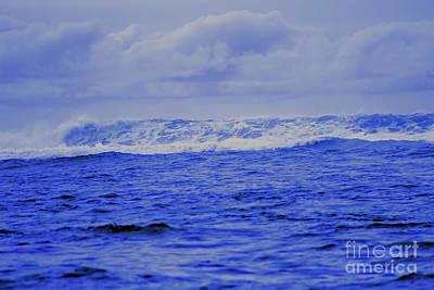 Photograph - Waves by Steven Parker