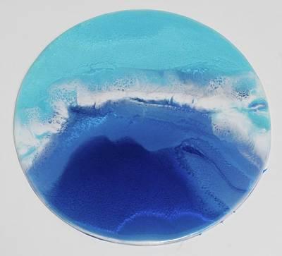 Mixed Media - Waves by Usha P