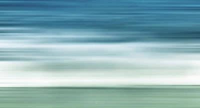 Abstract Digital Art Photograph - Waves by Wim Lanclus