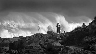 Photograph - Wavewatchers by John Orsbun
