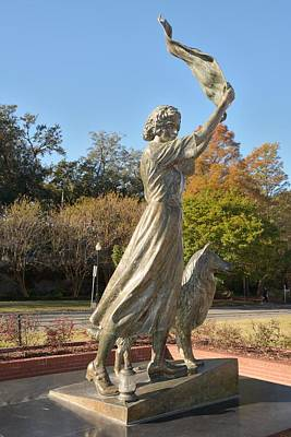 Photograph - Waving Girl Of Savannah by Bradford Martin