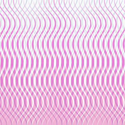 Digital Art - Wavy Stripes by Gina Lee Manley