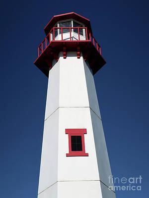 Photograph - Wawatam Lighthouse by Ann Horn
