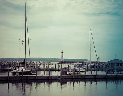 Photograph - Wawatam Lighthouse by Dan Sproul