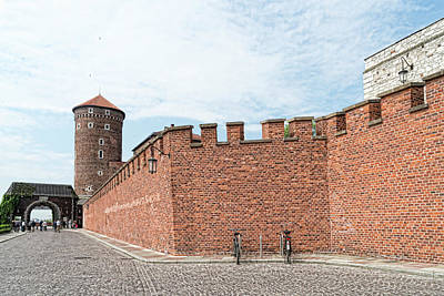 Photograph - Wawel Castle Entry by Sharon Popek