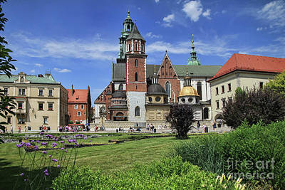 Photograph - Wawel Cathedral by Teresa Zieba
