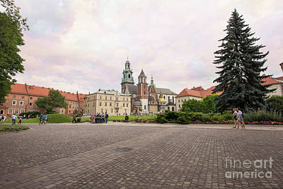 Photograph - Wawel Royal Castle by Juli Scalzi