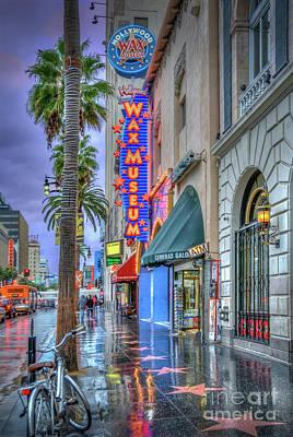 Photograph - Wax Museum Hollywood Blvd. by David Zanzinger