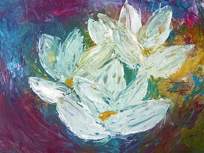 Painting - Wax Water Lilies by Patricia Beebe